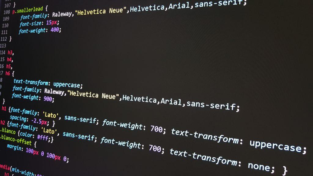 HTML5 website